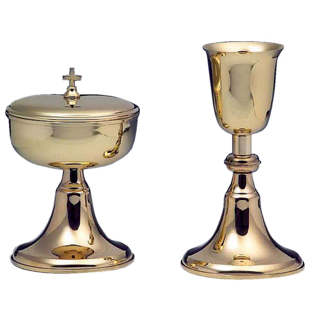 Calice e pisside argento 800 mod. Corona Australe 4