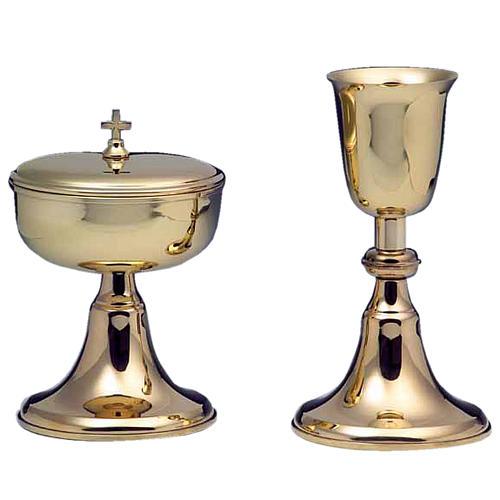 Calice e pisside argento 800 mod. Corona Australe 1
