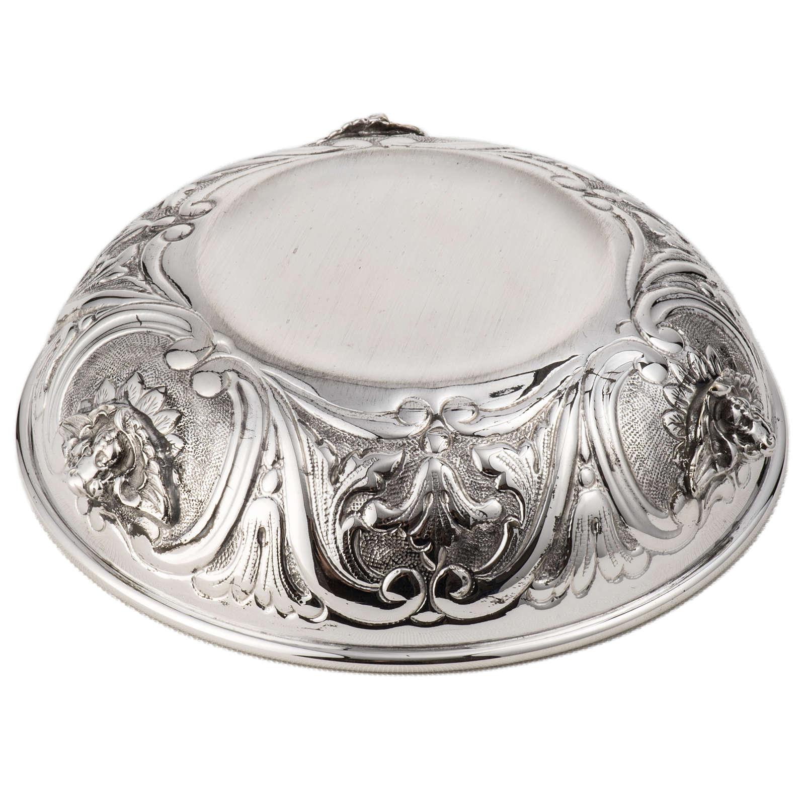 Patena escudilla en plata 800 4