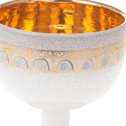 Calice perla oro ceramica 3