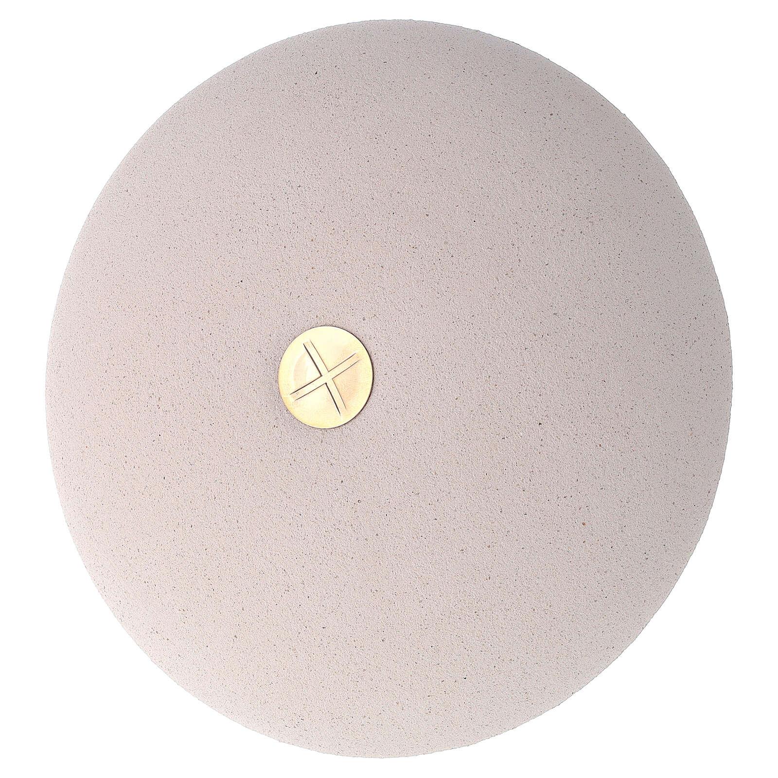 Cálice pequeno e patena argila refractária 4