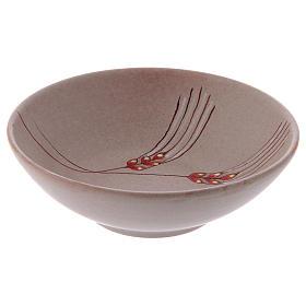 Patena de cerámica  beis, 20cm s4