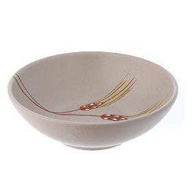 Patena ceramica cm 20 beige s2