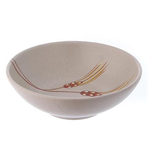 Patena ceramica cm 20 beige 2