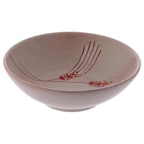 Patena ceramika 20 cm beż 4