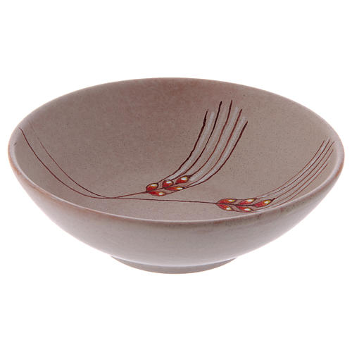 Patena cerâmica 20 cm bege 4