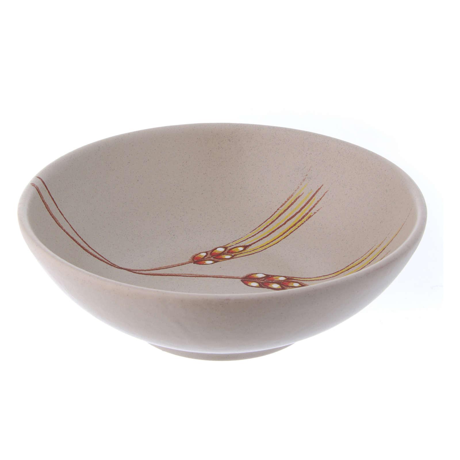 Ceramic paten 20 cm diameter 4