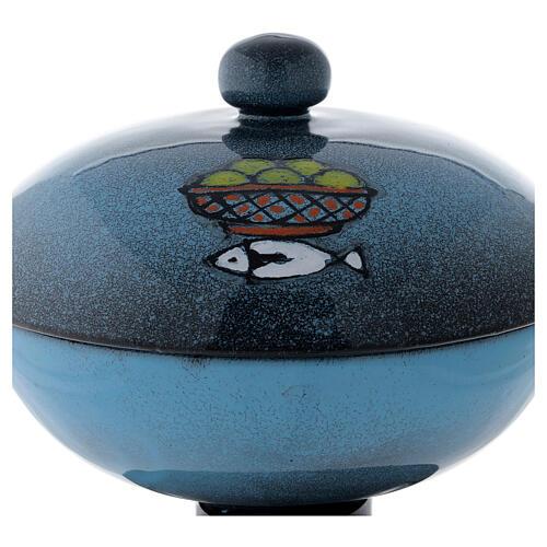 Píxide de cerámica con cubierta 2
