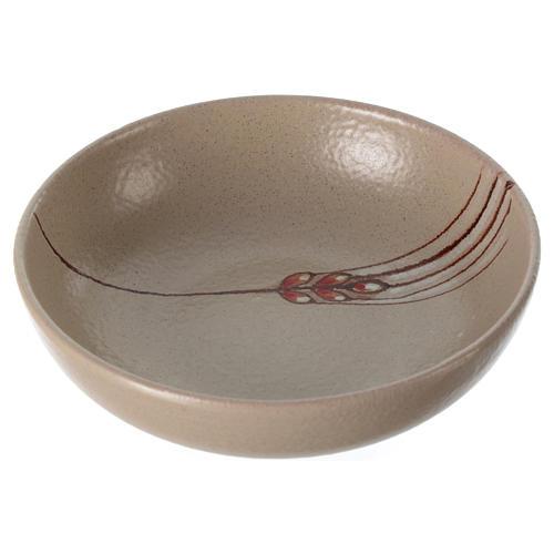 Patena de cerámica , 16cm diámetro Beis 1