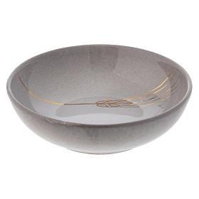 Patena ceramika artystyczna średn. 16 cm perła i zło s1