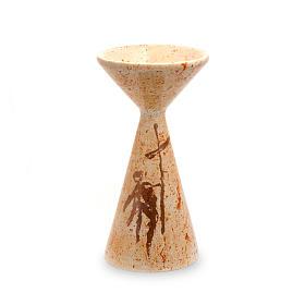 Kelch aus Keramik mit Basis Linie Sbieco s1
