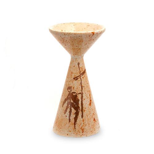 Kielich ceramika Spadzisty musztardowy 1