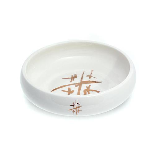 Hostienschale Linie Cana weiss aus Keramik 1