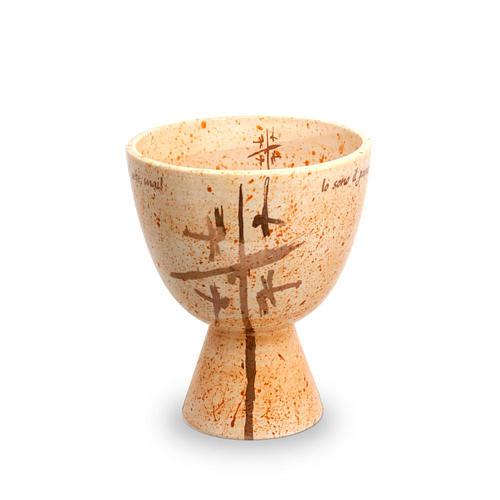 Kelch Linie Cana aus Keramik 1