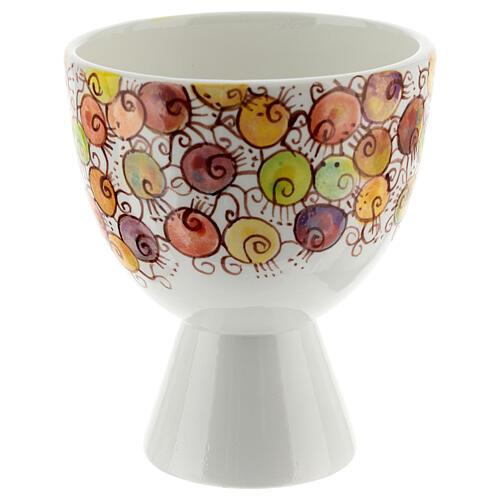 Calicino ceramica Linea Bacche 10 cm 1