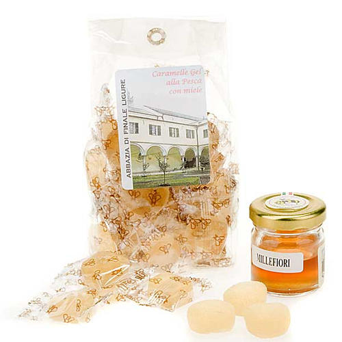 Peach jelly sweets from Finalpia abbey 1