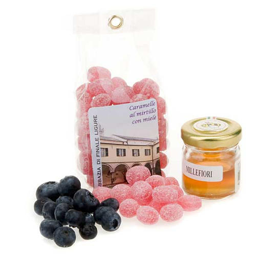 Honey and blueberry sweets from Finalpya abbey 1