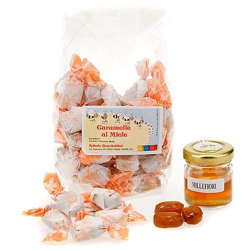Caramelle incartate miele Finalpia 1