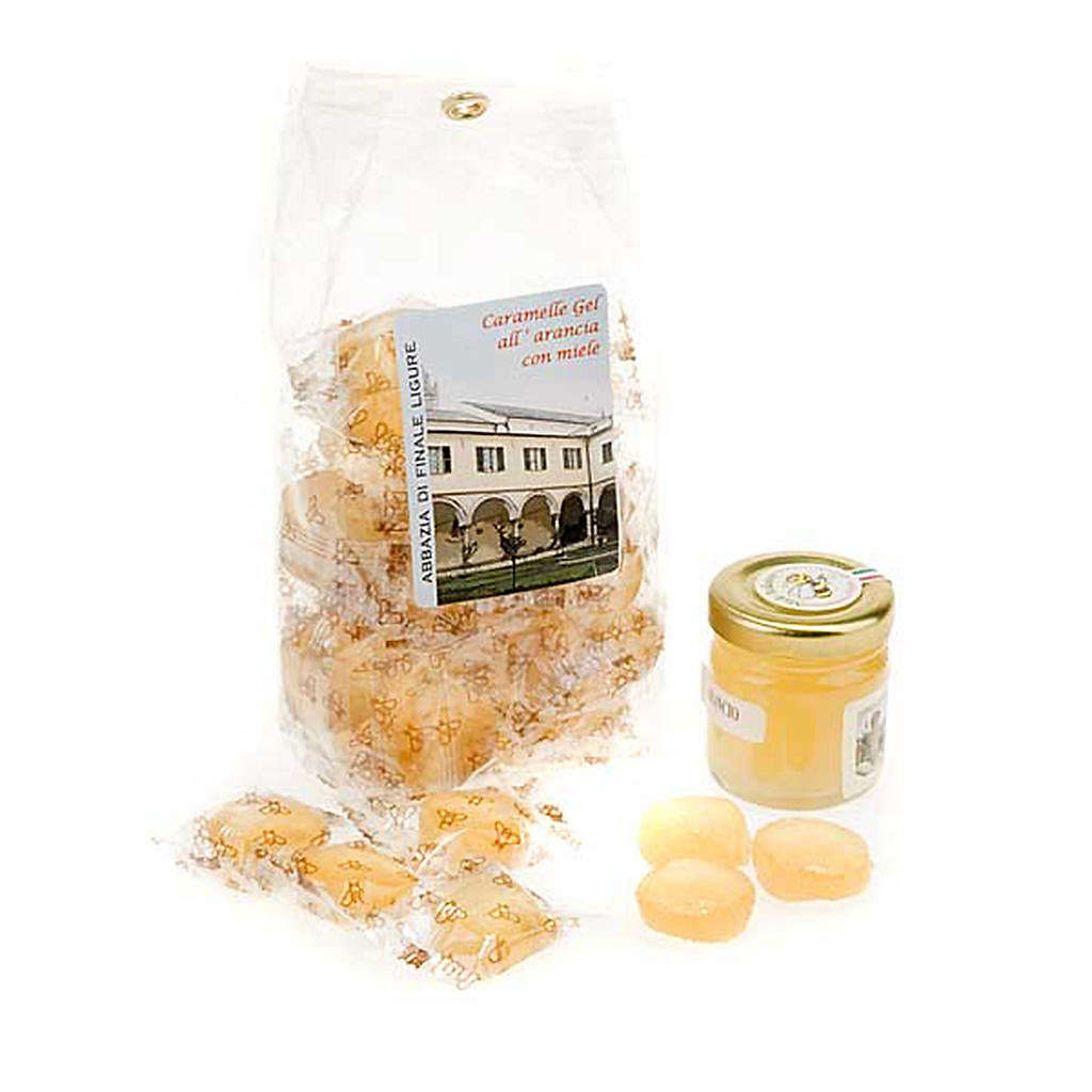 Orange jelly sweets from Finalpia abbey 3