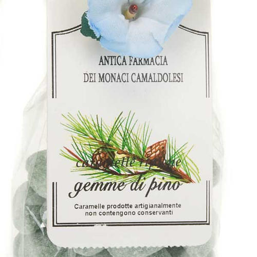 Caramelo gemas de pino confección regalo 250gr Camaldolis 2
