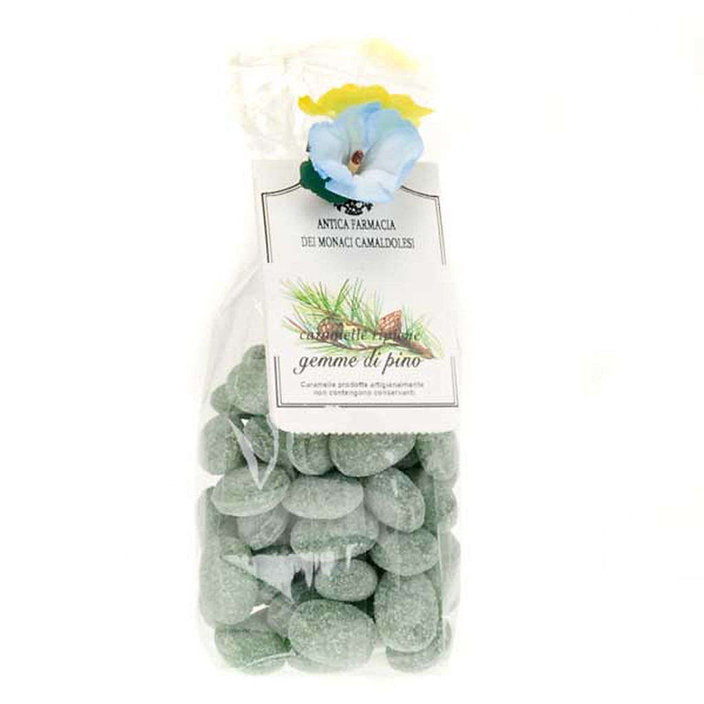 Pine tree jelly sweets, gift pack 250gr, Camaldoli 3