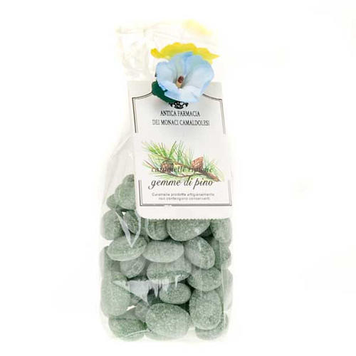 Pine tree jelly sweets, gift pack 250gr, Camaldoli 1