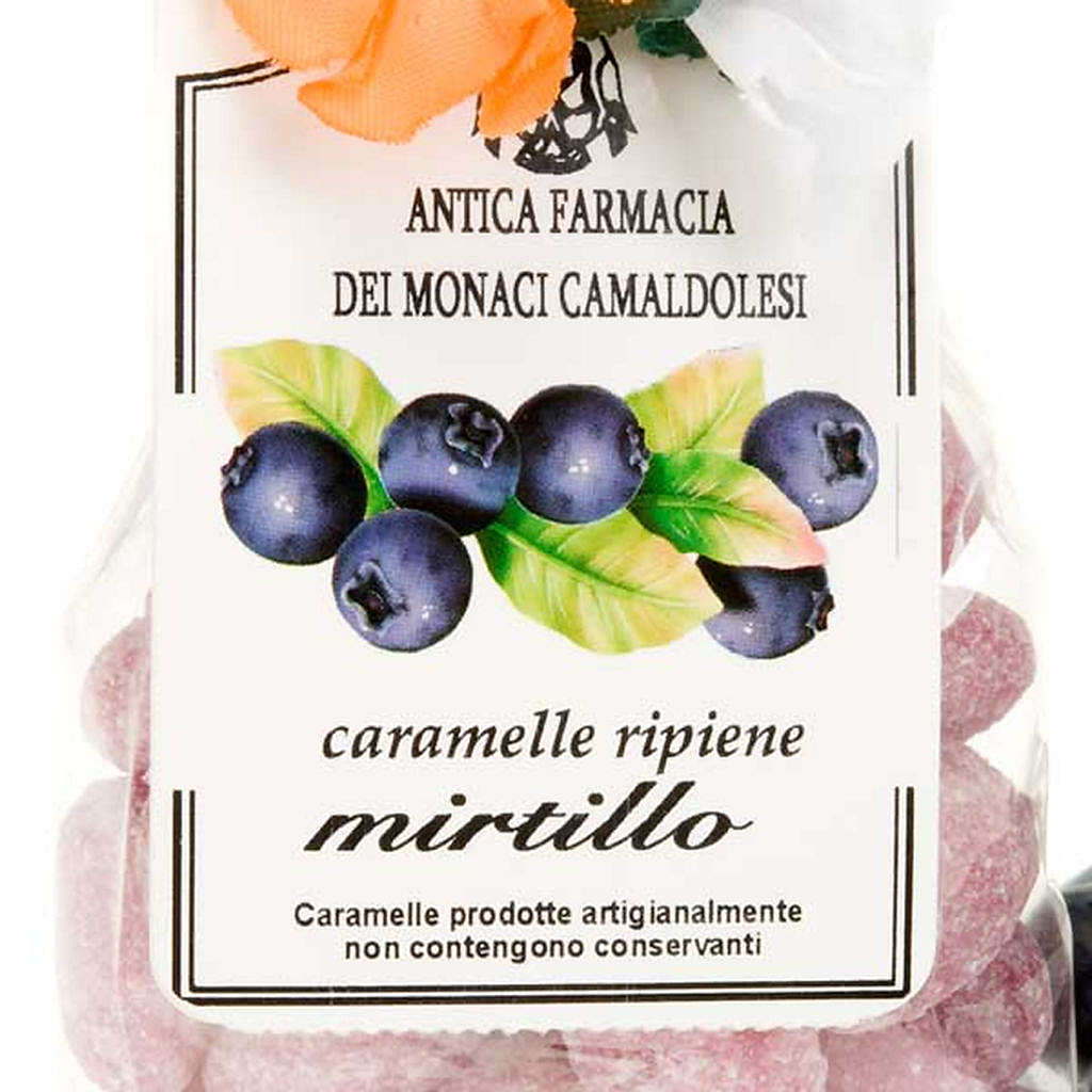 Caramelle mirtillo confezione regalo 250 gr Camaldoli 3