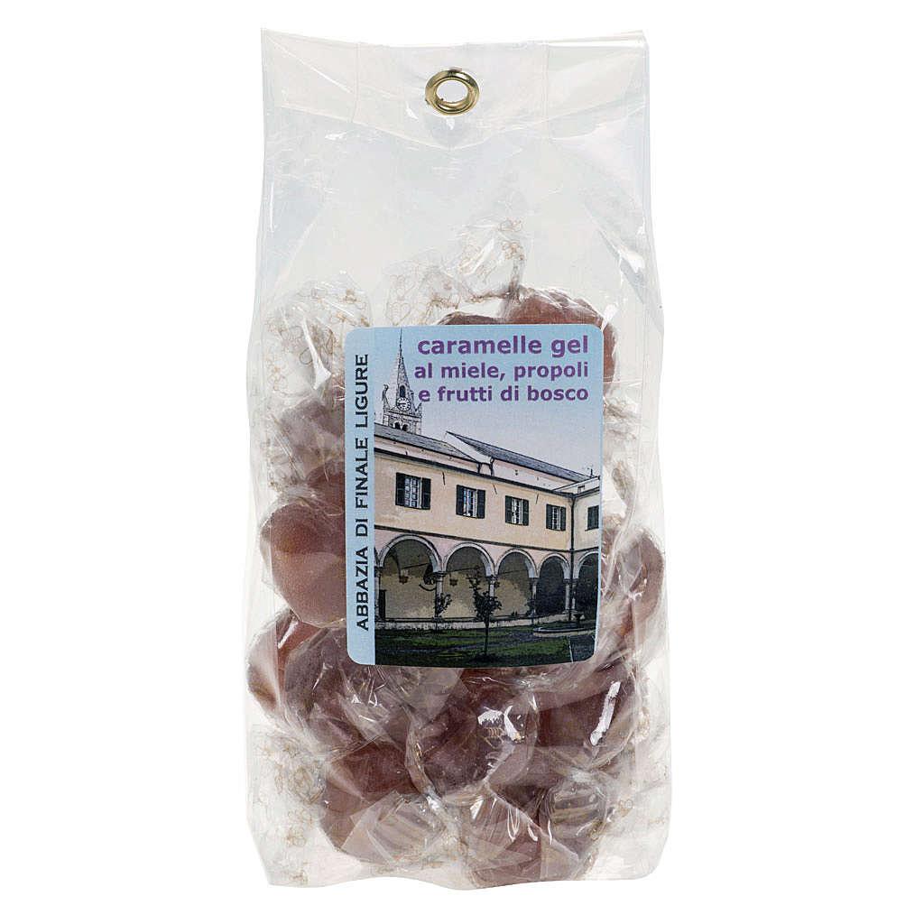 Cukierki galaretki owoce leśne z propolisem i miodem 3