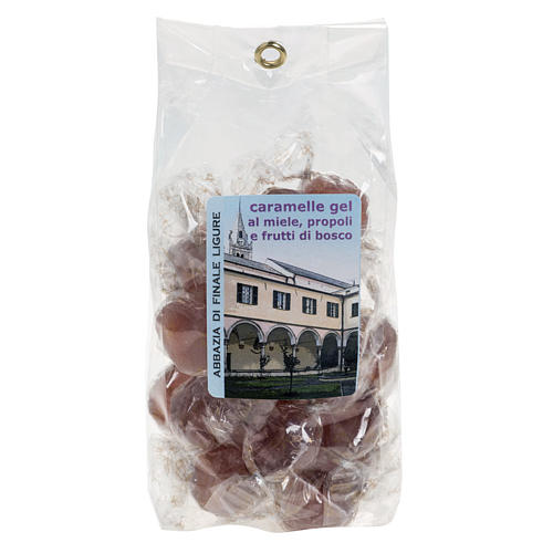 Cukierki galaretki owoce leśne z propolisem i miodem 1