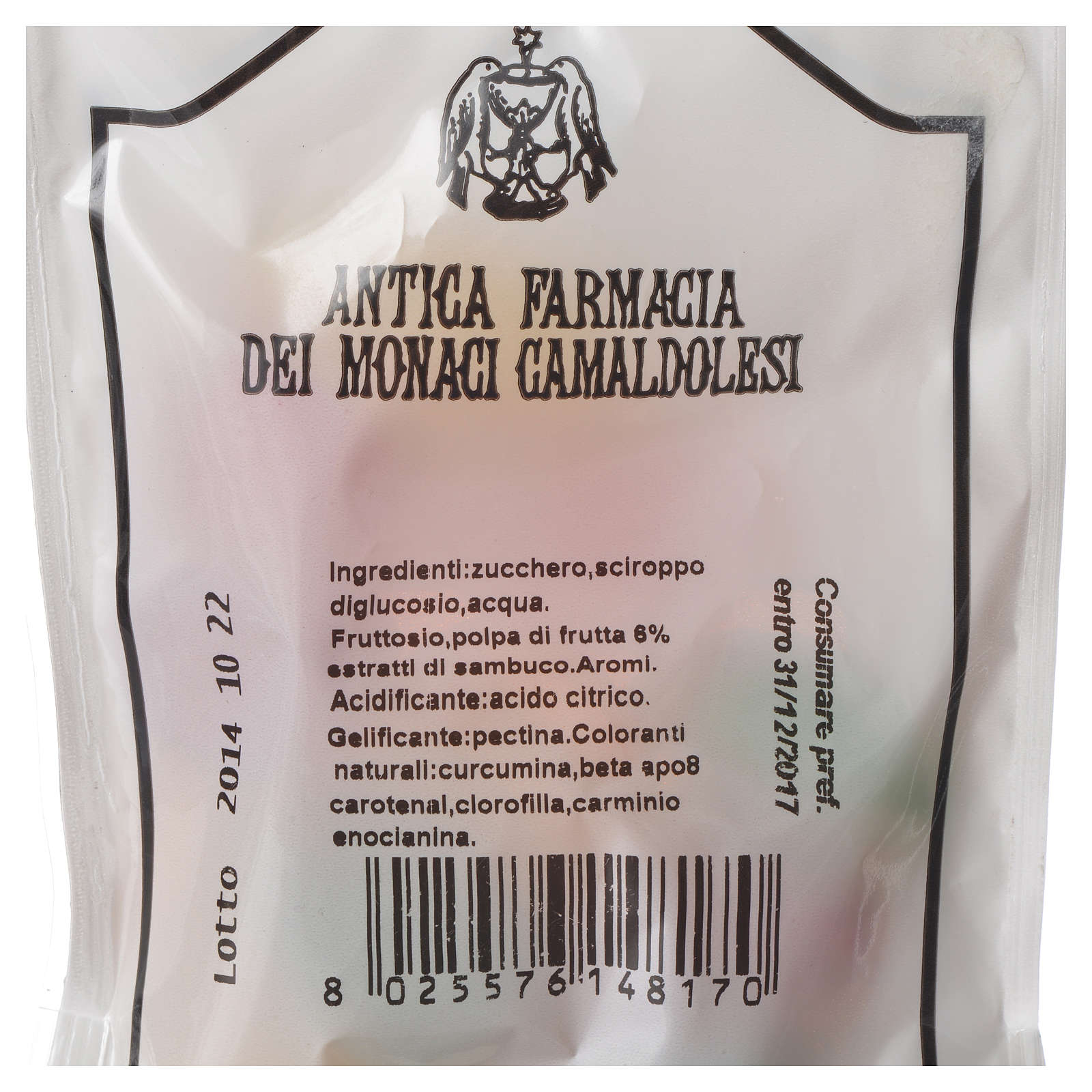 Gelee fruit Candies Camaldoli 100gr 3