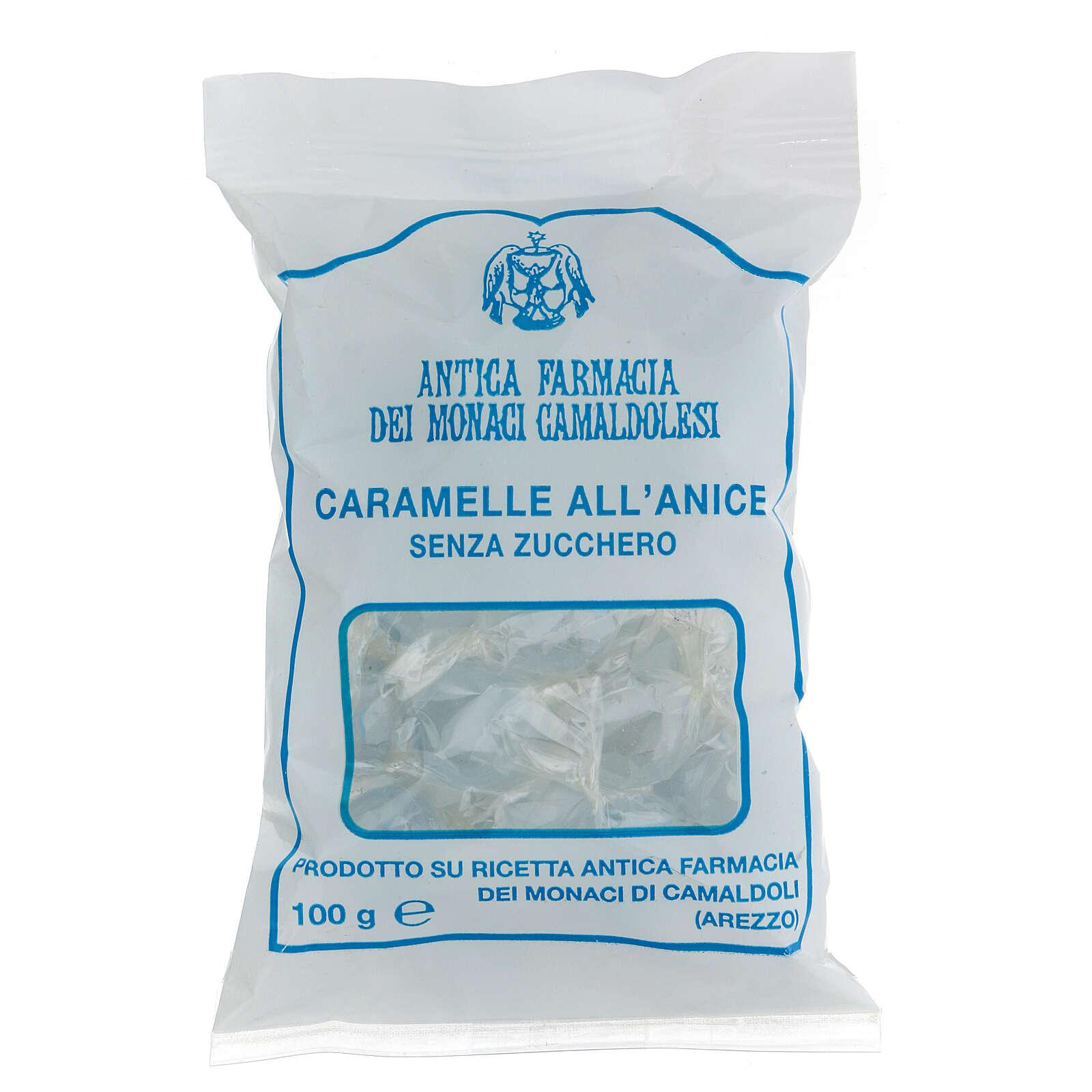 Caramelle all'Anice SENZA ZUCCHERO 100 gr Camaldoli 3