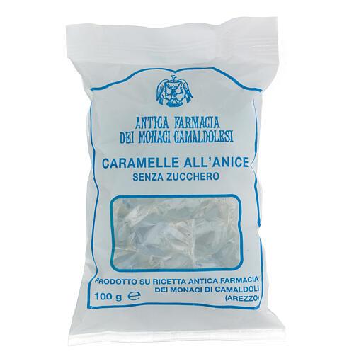 Caramelle all'Anice SENZA ZUCCHERO 100 gr Camaldoli 1