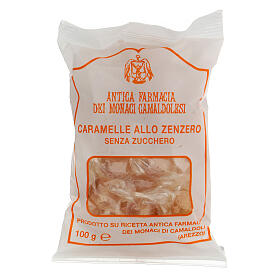 Caramelle allo Zenzero SENZA ZUCCHERO 100 gr Camaldoli s1