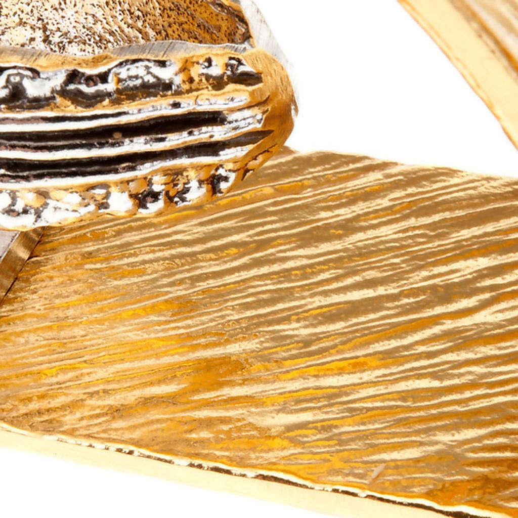 Candelabro lumiera tre fuochi croce 4