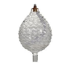 Lâmpadas e Lamparinas: Vidro sobressalente gota lamparina LL001086