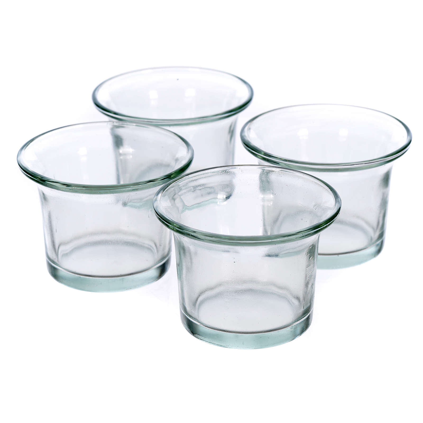 Bicchieri trasparenti ricambio portalumini ad albero 4