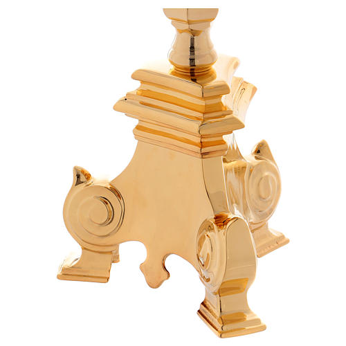 Baroque candle holder, classic style 3 flames 100 cm 6