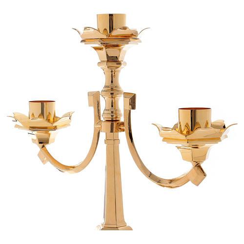 Candelabro barroco clásico 3 llamas 100 cm 2