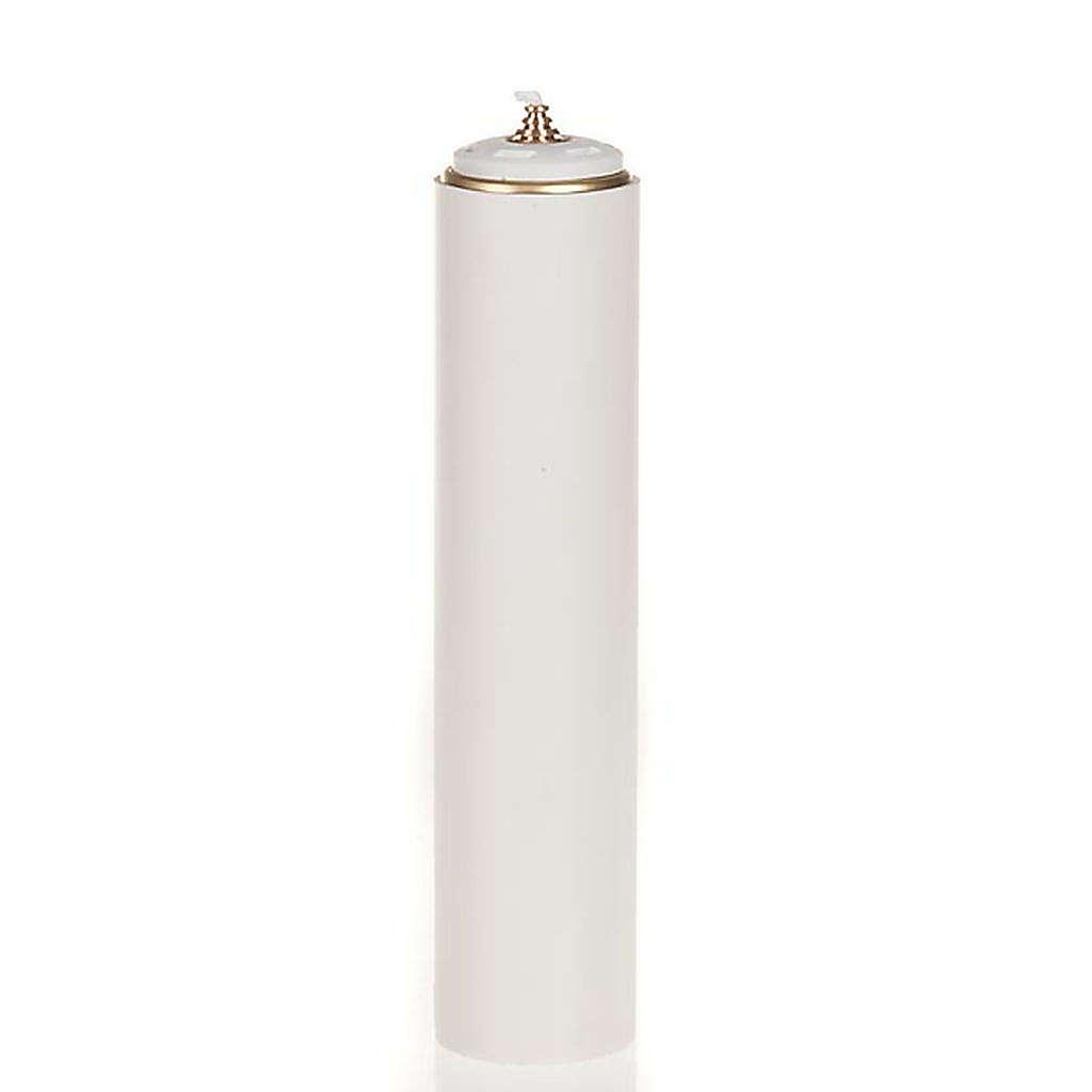 Świeca na wosk płynny z osłonką o średnicy 6cm 3