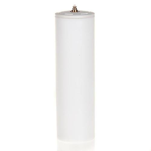 Candela a cera liquida con cartuccia diam. 8 cm 3