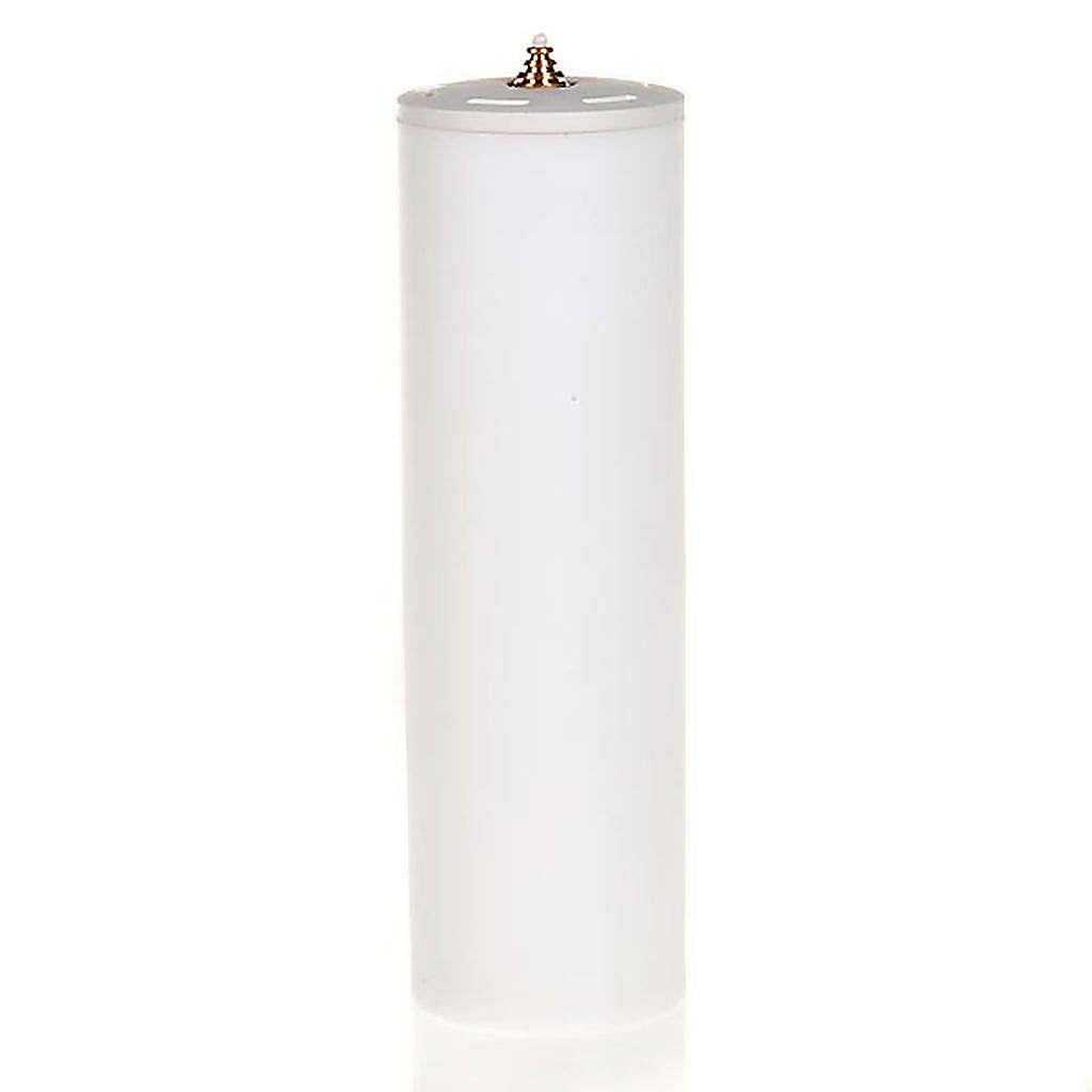 Świeca na wosk płynny z osłonką o średnicy 8cm 3