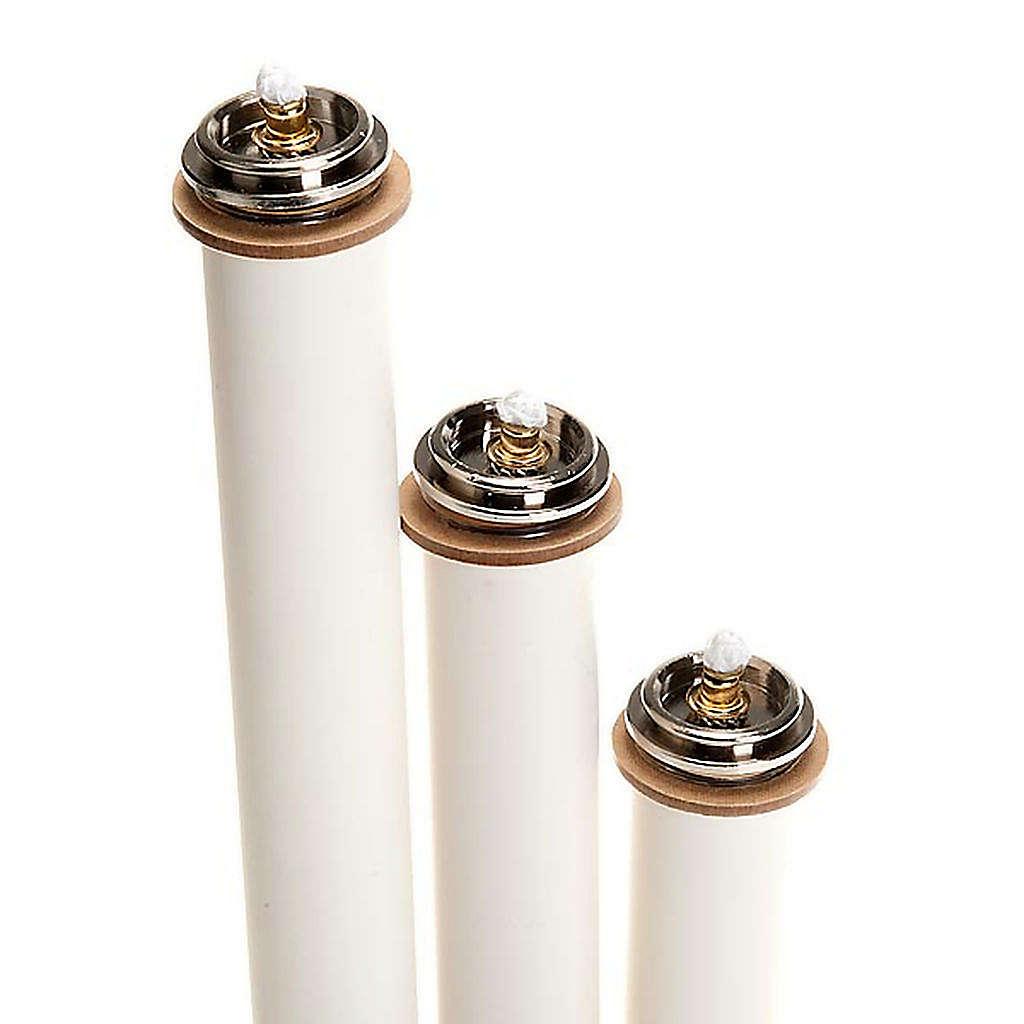Kerze Flüßigwachs mit Kartusche, Durchmesser 2.5 cm 3