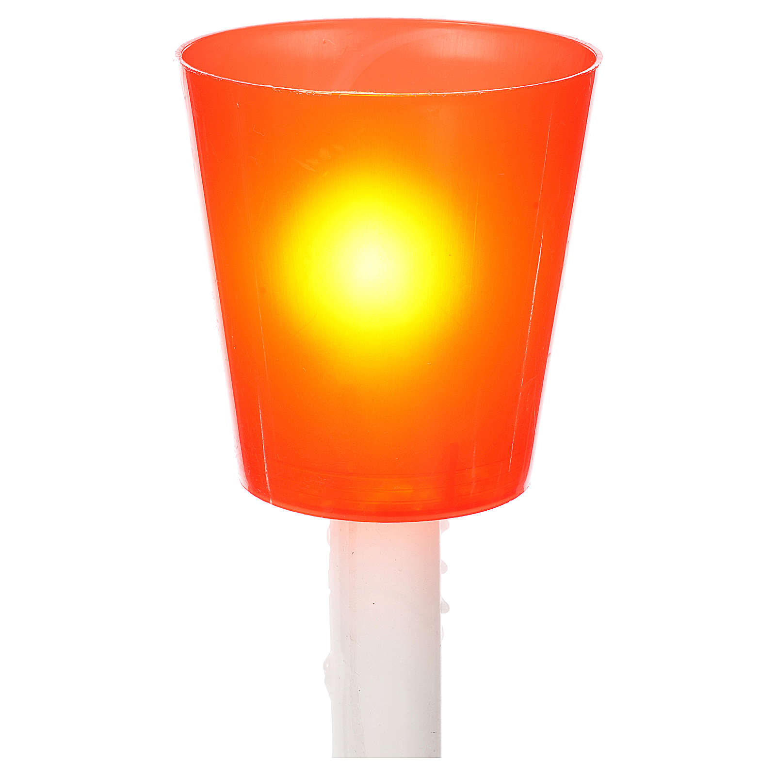 Flambeaux aus bunten Plastik (30St.) 3