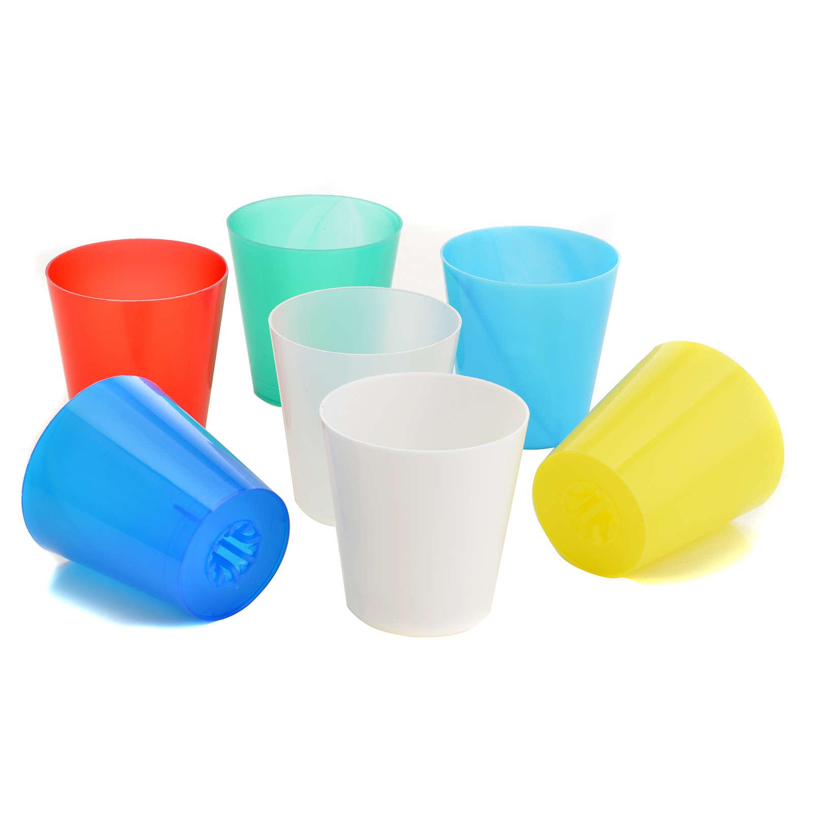 Tulipas de plástico de colores (30 unidades) 3