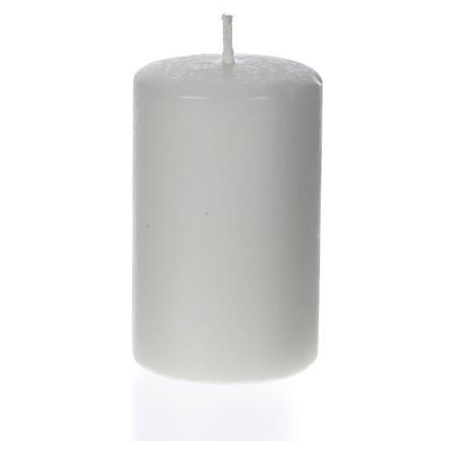 Cierge cire blanche 80x50mm (confection) 1