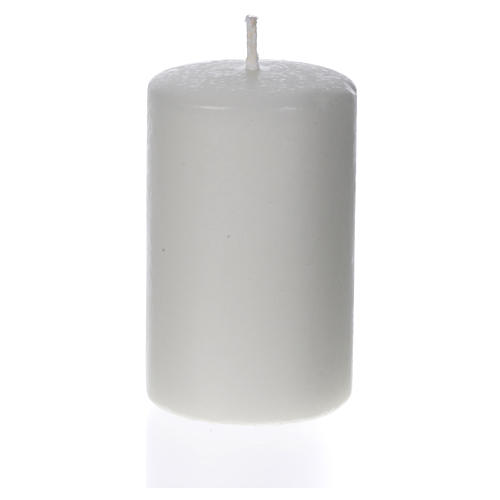 Candela bianca 80x50 mm (confezione) 1