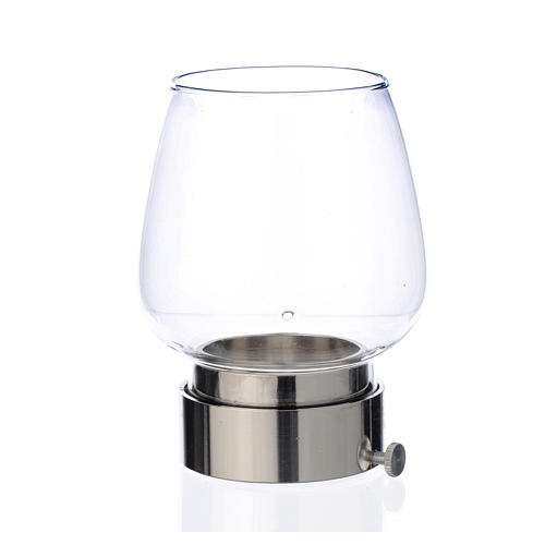 Glass wind-proof replacement for 5cm silver lamp 1