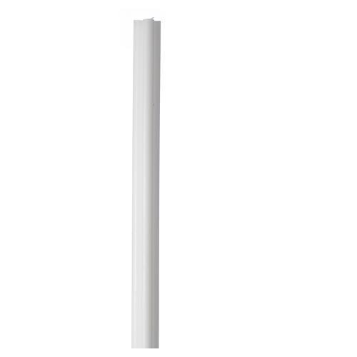 Vela estilo antorcha 800x50x50 mm cera blanca (paquete) 1