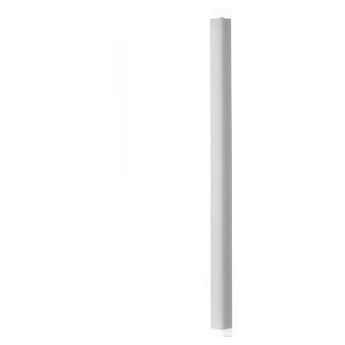 Candela bianca quadra 600x30x30 mm (confezione) 1