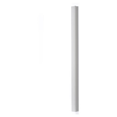 White square candle 600x30x30mm, pack of 15 1